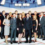 Rostros de los servicios informativos de Antena 3