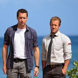 Alex O'Loughlin y Scott Caan en 'Hawaii 5.0'