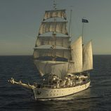 El Estrella Polar, goleta en la que vivirán los protagonistas de 'El barco'