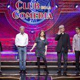 Eva Hache y los invitados de 'El club de la comedia'