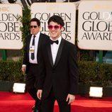 Darren Criss de 'Glee' en los Globos de Oro 2011