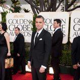 Mark Salling en los Globos de Oro 2011