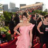 Lea Michele en los Globos de Oro 2011