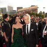 Michael Douglas y Catherine Zeta Jones en los Globos de Oro 2011