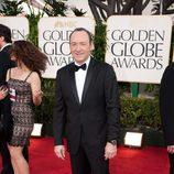 Kevin Spacey en los Globos de Oro 2011