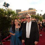 Ed O'Neill en los Globos de Oro 2011