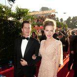 Scarlett Johansson en los Globos de Oro 2011