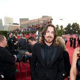 Christian Bale en los Globos de Oro 2011