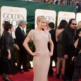 Heather Morris en los Globos de Oro 2011