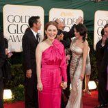 Julianne Moore en los Globos de Oro 2011