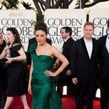Mila Kunis en los Globos de Oro 2011