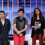 Alex, Josh y Pilar Rubio