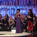 Nina y los concursantes de 'Operación Triunfo'