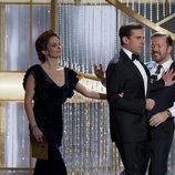 Steve Carell ('The office') bromea Ricky Gervais durante la gala