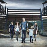 Los protagonistas de 'Terra Nova', la nueva serie de Fox