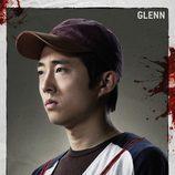 Steven Yeun es Glenn en 'The Walking Dead'