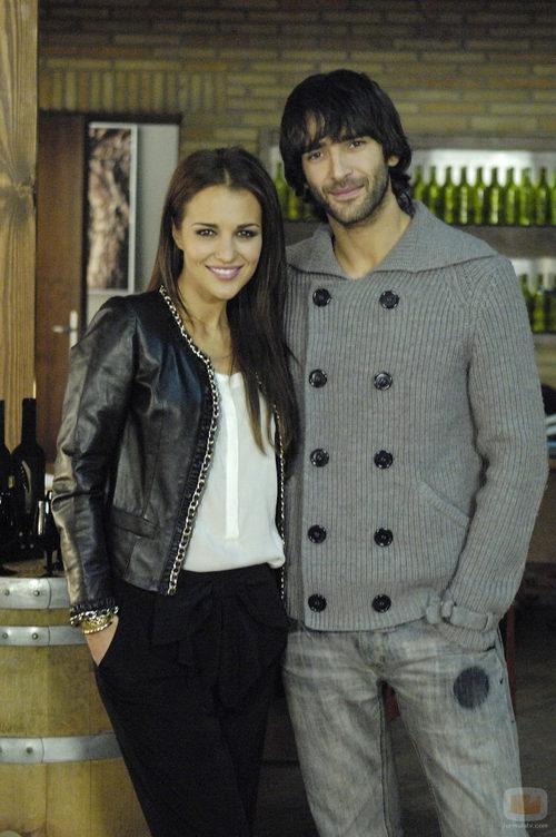 Paula Echevarria y Aitor Luna, protagonistas de 'Gran reserva'