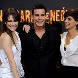 Blanca Suárez, Mario Casas y Macarena Gómez