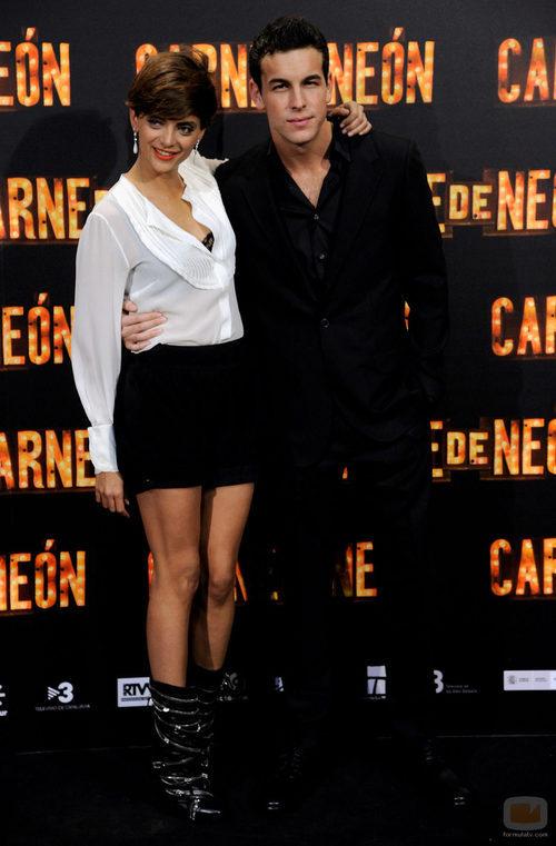 Macarena Gómez y Mario Casas