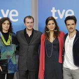 Marta Belaustegui, Fernando Cayo, Lucía Jiménez y Raúl Peña