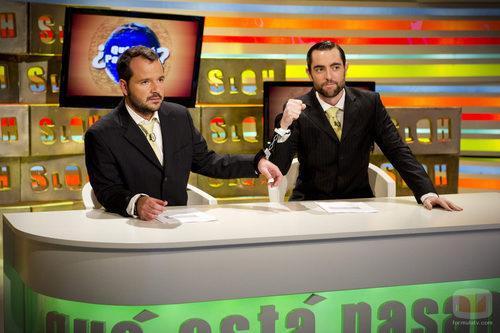 Dani Mateo y Ángel Martín en su último SLQH