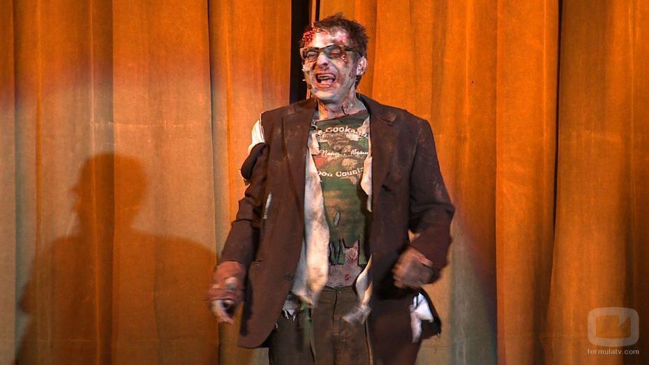 Berto Romero es un zombi en su nueva serie para TNT