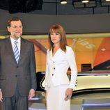 Mariano Rajoy y Gloria Lomana
