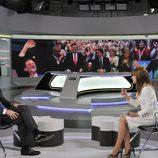 Mariano Rajoy entrevistado por Gloria Lomana