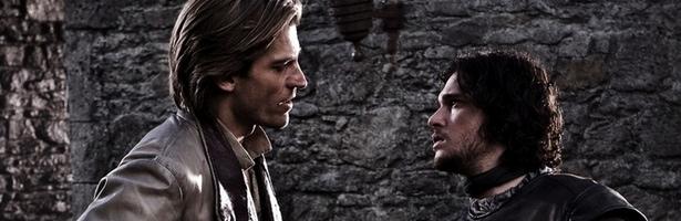 El matareyes, junto a Jon Snow en 'Juego de tronos'
