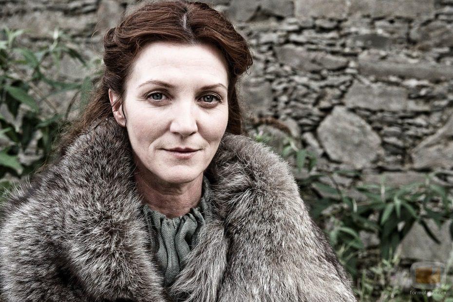 Michelle Fairley hace de Catelyn Stark en 'Juego de tronos'