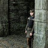 Bran en el patio de Invernalia, en 'Juego de tronos'