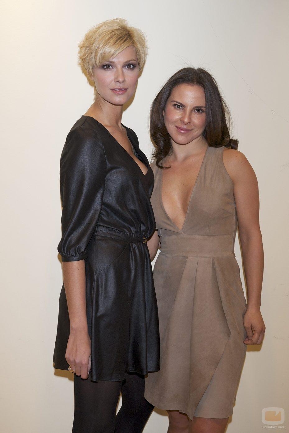 ... del Castillo y Cristina Urgel, protagonistas de 'La reina del Sur