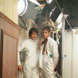 Yon González y Martín Rivas en 'El internado'