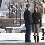 Dana Delany y Nicholas Bishop en 'El cuerpo del delito'