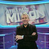 Carlos Sobera posa para 'Atrapa un millón'