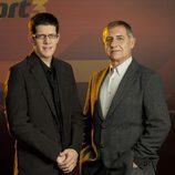 Pichi Alonso y Lluis Canut, comentaristas deportivos