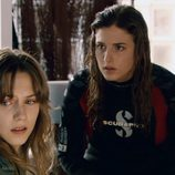 Aura Garrido y Marina Salas en 'Ángel o demonio'