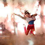 Ashley Tisdale en una toma de 'Hellcats'