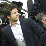 Diego Martín durante el rodaje de 'Doctor Mateo'