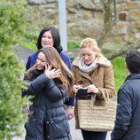 Natalia Verbeke y María Esteve se preparan para rodar 'Doctor Mateo'