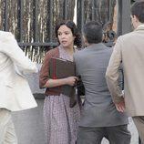 La actriz Verónica Sánchez rueda '14 de abril. La República'