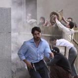 Félix Gómez rueda una escena de acción en '14 de abril. La República'