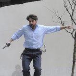 Félix Gómez grabando '14 de abril. La República'