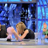 Jennifer Aniston, a punto de besar a Trancas
