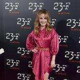María Adánez en la presentación de '23-F'