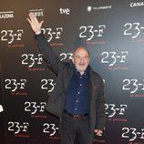 Jesús Bonilla levanta la mano