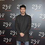 Hugo Silva en la presentación de '23-F'