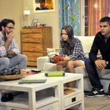 Mario, junto a Sandra y Ángel en 'Los protegidos'