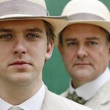 Dan Stevens y Hugh Bonneville en 'Downton Abbey'