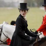Lady Mary Crawley a caballo en 'Downton Abbey'